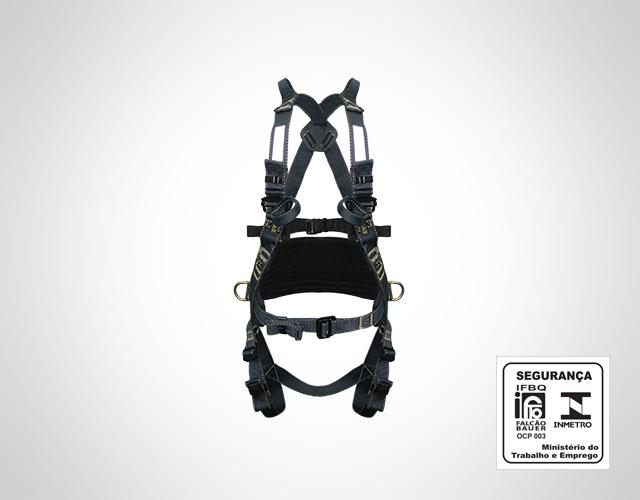 79172cce71848 Cinto de Segurança tipo Paraquedista HL40001PR
